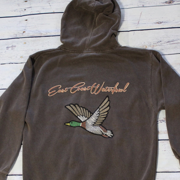 LIGHT CHOCOLATE FLYING MALLARD ECW SWEATSHIRT