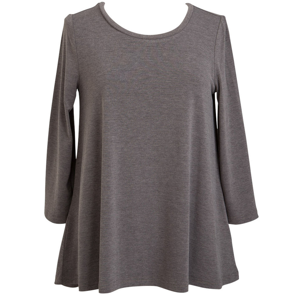 ESSENTIAL TUNIC SMOKY GREY