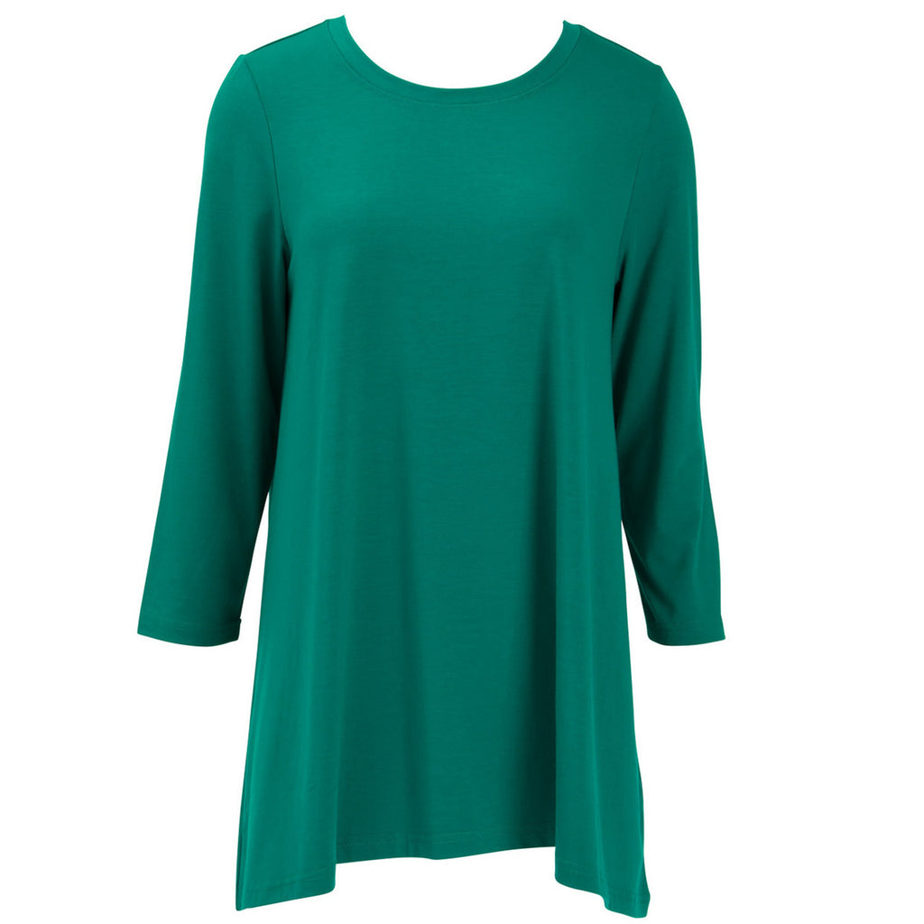 ESSENTIAL TUNIC DEEP TEAL