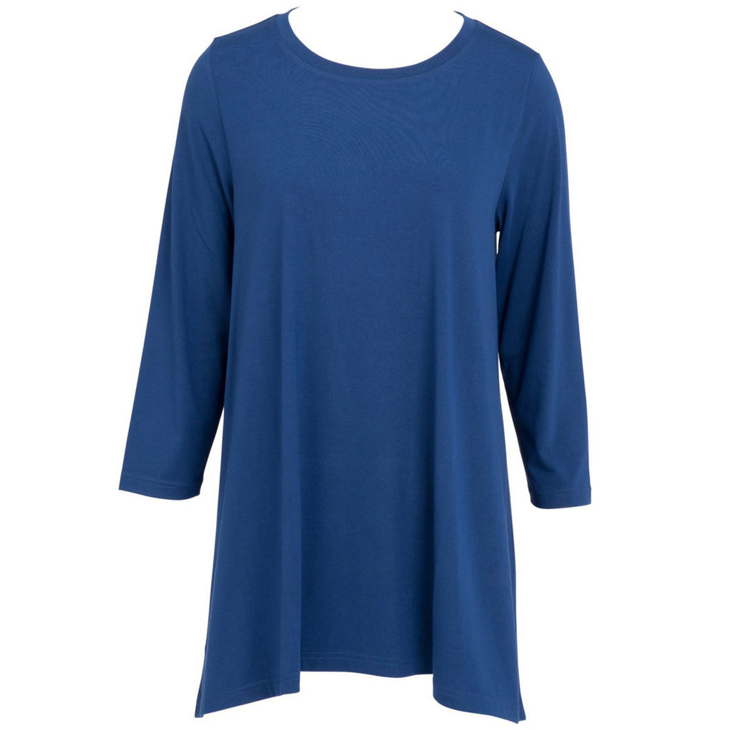 ESSENTIAL TUNIC BLUEBERRY