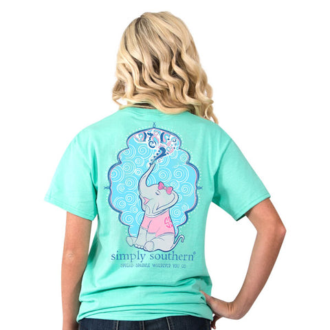 SIMPLY SOUTHERN SPREAD SPARKLE WHEREVER YOU GO T SHIRT