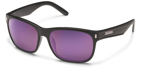 DASHBOARD - MATTE BLACK/PURPLE MIRROR POLARIZED POLYCARBONATE