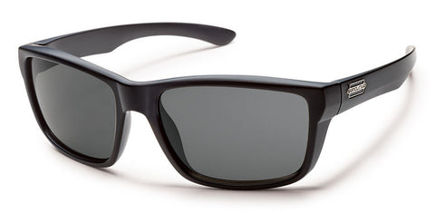 MAYOR - MATTE BLACK /GRAY POLARIZED POLYCARBONATE
