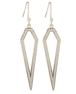SHEILA FAJL PIA EARRINGS 18K GOLD PLATED