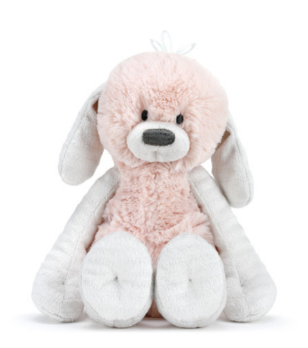 POLLY PINK PUPPY RATTLE