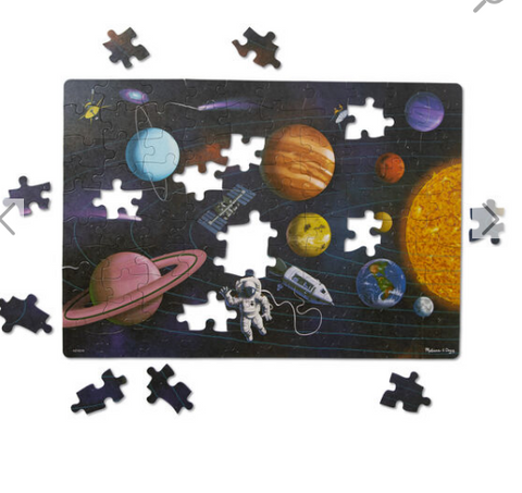 NATURAL PLAY PUZZLE OUTER SPACE 100 PIECES