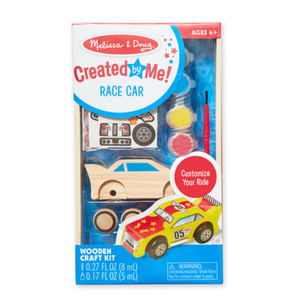 CREATED BY ME RACE CAR WOODEN CRAFT SET