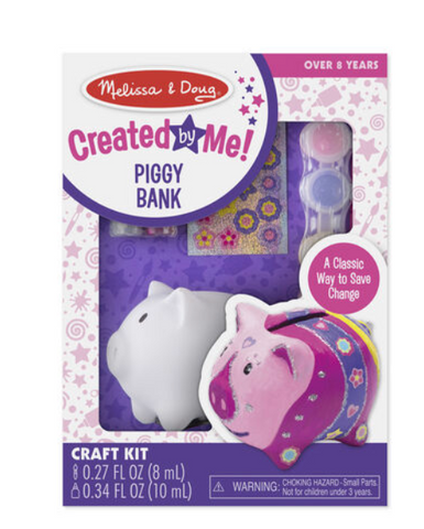 CREATED BY ME PIGGY BANK CRAFT KIT