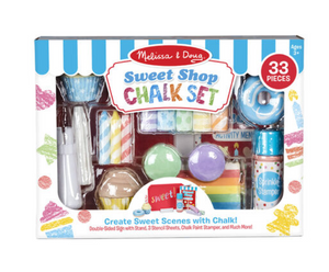 SWEET SHOP CHALK PLAY SET