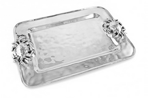OCEAN CRAB RECTANGLE PLATTER MEDIUM