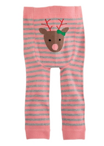 REINDEER KNITTED PANTS 6-12 MONTHS