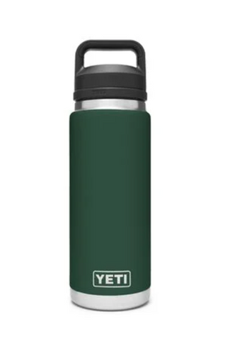 YETI RAMBLER 26 OZ BOTTLE CHUG NORTHWOODS GREEN