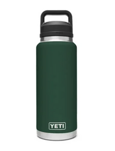 YETI RAMBLER 36 OZ BOTTLE CHUG NORTHWOODS GREEN