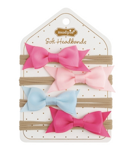 GROSGRAIN BOW SOFT HEADBAND
