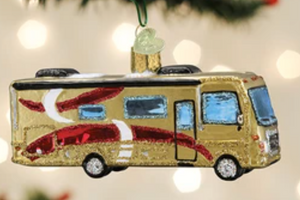 COMING SOON!  CLASS A MOTORHOME ORNAMENT