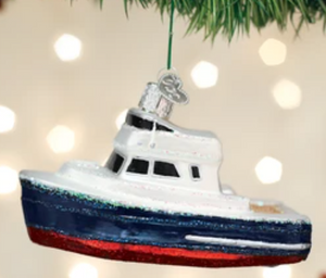 COMING SOON!  CHARTER BOAT ORNAMENT
