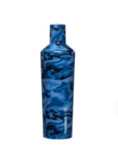VINEYARD VINES BLUE CAMO 25 OZ CANTEEN