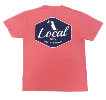 LOCAL BOY OUTFITTERS  BADGE CORAL