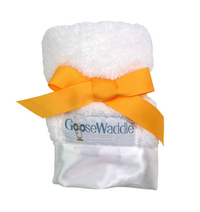 LUXURY BABY BLANKIE WHITE