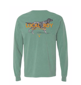 LOCAL BOY LONG SLEEVE IRISH SETTER LIGHT GREEN