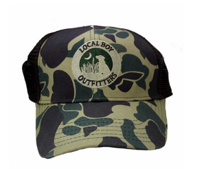 LOCAL BOY YOUTH OLD SCHOOL CAMO HAT