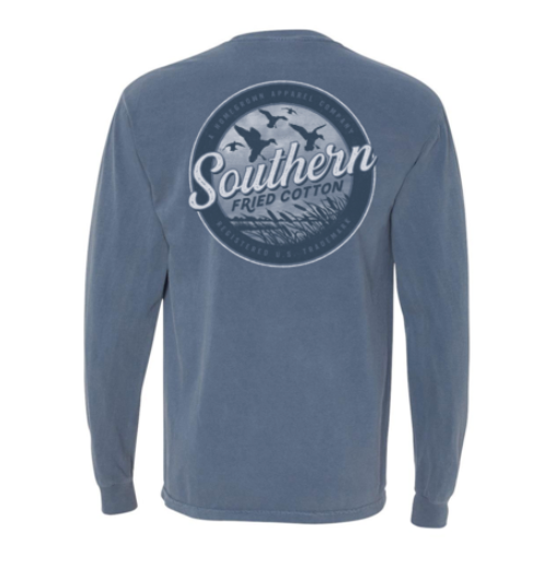 SOUTHERN FRIED COTTON DUCKS IN THE MARSH LONG SLEEVE
