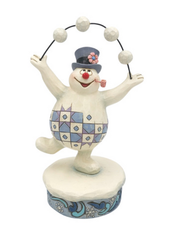 FROSTY JUGGLING SNOWBALLS