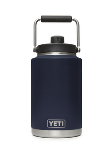 YETI RAMBLER ONE GALLON JUG NAVY IN STORE PICKUP ONLY