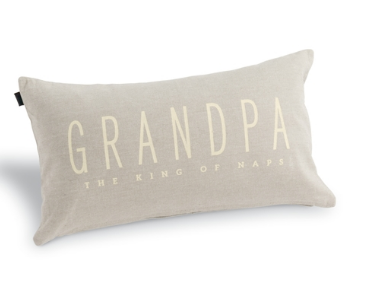 "GRANDPA PILLOW 21""W X 12""H"