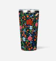CORKCICLE RIFLE PAPER CO 16 OZ NAVY WILD ROSE