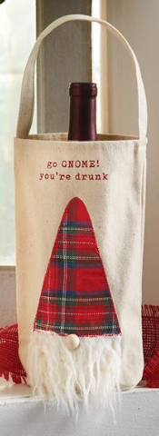 GO GNOME! YOU'RE DRUNK WINE BAG