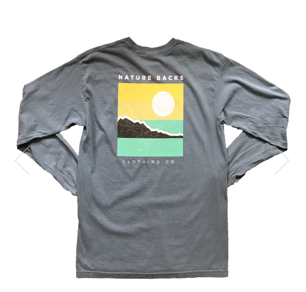 NATURE BACKS LONG SLEEVE TIDAL
