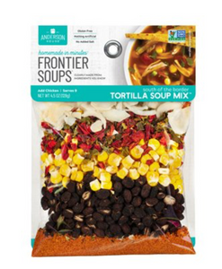 FRONTIER SOUP SOUTH OF THE BORDER TORTILLA FLAT