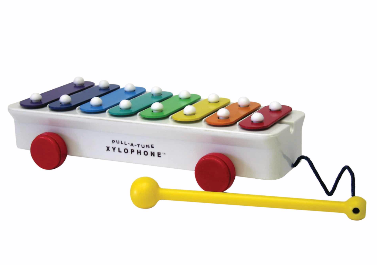 FISHER PRICE PULL A TONE XYLOPHONE