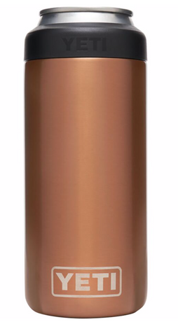 YETI RAMBLER SLIM COPPER