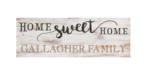 PGD-HOME SWEET HOME-PERSONALIZATION AVAILABLE