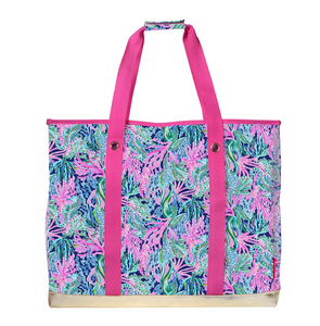 LILLY PULITZER ULTIMATE CARRYALL BRINGING MERMAID BACK