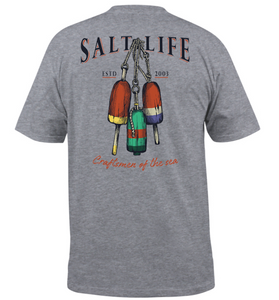 SALT LIFE CRAFTSMEN BUOYS SHORT SLEEVE TEE