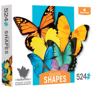BUTTERFLY CLUSTER SHAPED PUZZEL 524 PCS