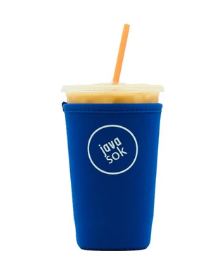 JAVA SOK THE ORIGINAL  REUSABLE ICED COFFEE SLEEVE 22-28 OZ
