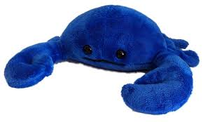 "10"" BLUE CRAB PLUSH"