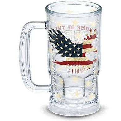 HOME OF THE BRAVE BEER MUG