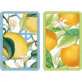 CITRUS PLAYING CARDS JUMBO