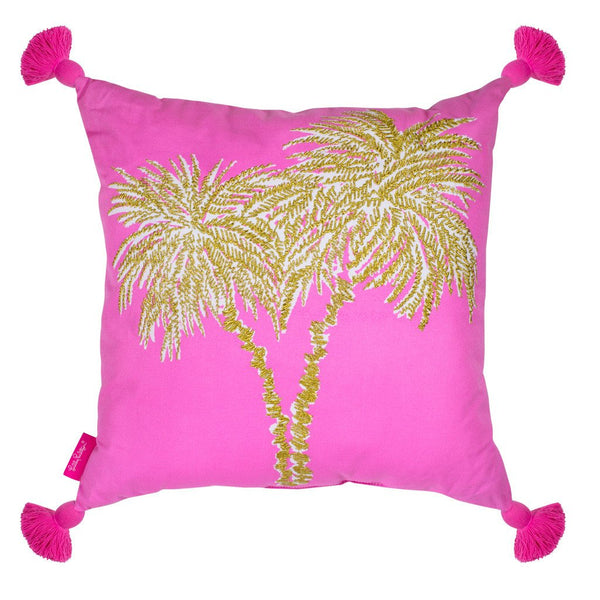 LILLY PULITZER LARGE PILLOW PALMS