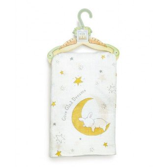 GIVE GLAD DREAMS SWADDLE BLANKET