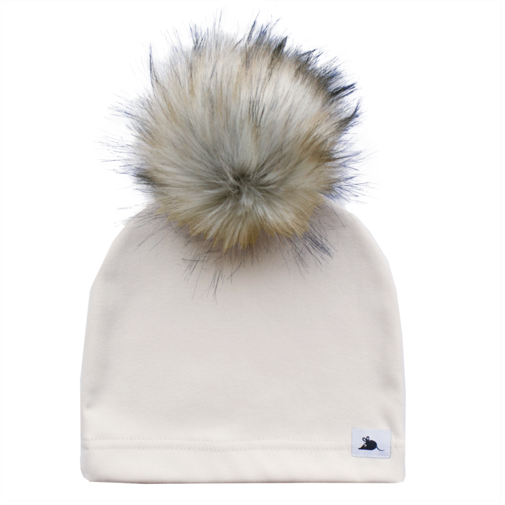 Lillemus Fleece Pom Beanie- Adult