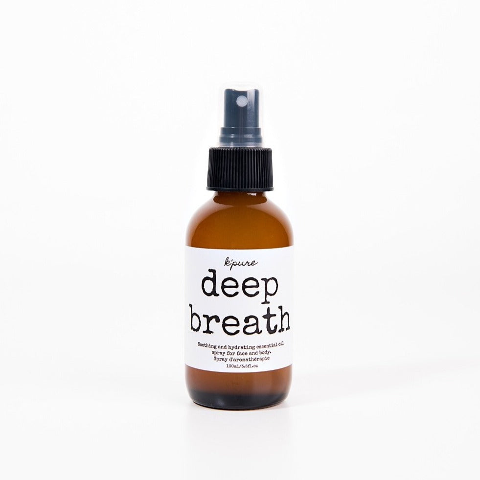 K'pure Deep Breath Soothing Essential Oil Spray- 30ml