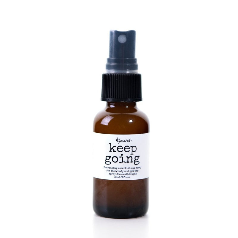 K'pure Keep Going Energizing Essential Oil Spray - 30ml