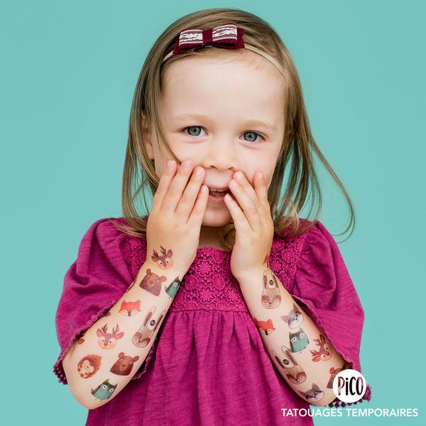 PiCO Children's Temporary Tattoos