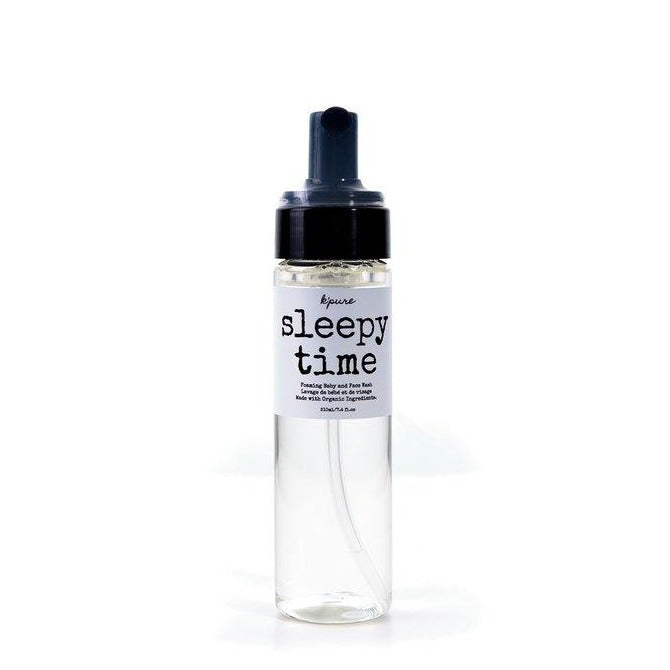 K'pure Sleepy Time Foaming Baby and Face Wash (210ml) brandon manitoba